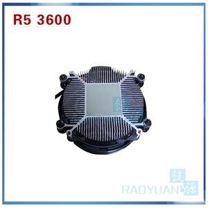 Image 4 - معالج لوحدة المعالجة المركزية AMD Ryzen 5 3600 R5 3600 3.6 GHz ستة النواة اثني عشر خيط 7NM 65W L3 = 32M 100 000000031 مقبس AM4 مع مروحة تبريد