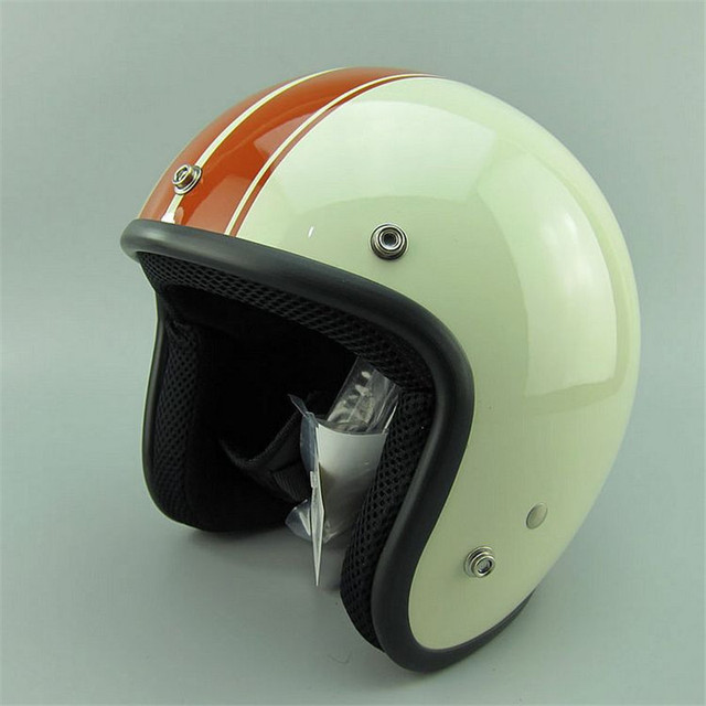 hot sale thh vintage motorcycle helmets jet scooter vespa helmet pilot open face moto helmet can. Black Bedroom Furniture Sets. Home Design Ideas