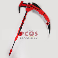 NEW RWBY Red Trailer Ruby Weapon Crescent Rose Cosplay Prop mp003299