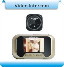 Free shipping 8G memory 3.0″ LCD video intercom door motion detect phone video door bell camera monitor doorphone