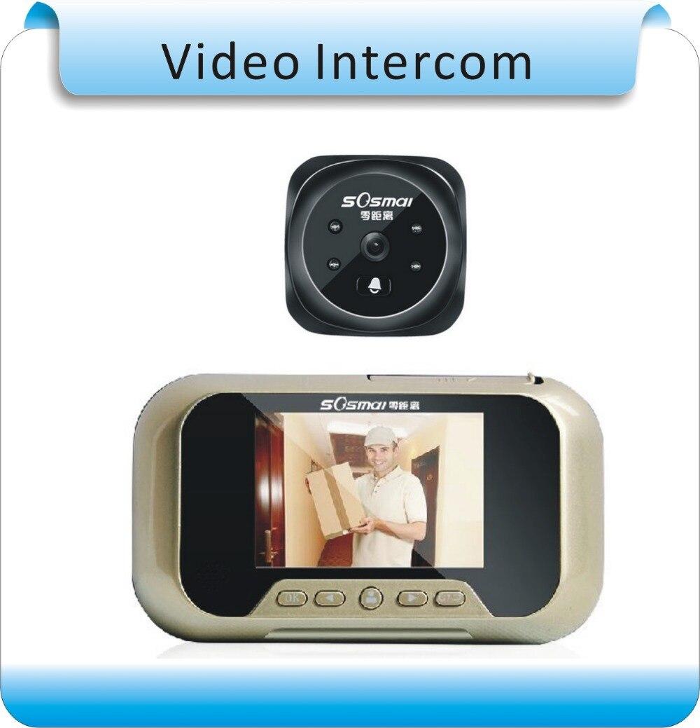 O envio gratuito de 8g de memória 3.0 lcd motion detect video da porta  interfone telefone campainha da porta de vídeo do monitor da câmera do  interfone fd4c4e0471