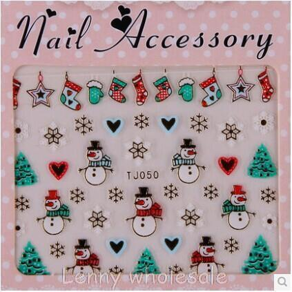 Atacado 12 Desenhos Coloridos & Gold Metal Nail Art unhas de Natal adesivos Decoração de Unhas, unha minx nail sticker 100 pçs/lote
