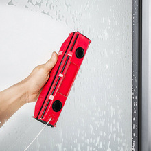 Hot NEW Magnetic Window Cleaner Double Glazed Glazing Glass Cleaning Squeegee Tool for Home Office FP8 ST13