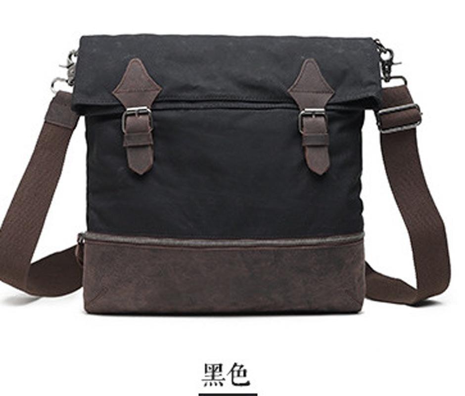 YISHEN Fashion Vintage Style Men Messenger Bags Canvas Waterproof Male Shoulder Bags Casual Retro Men Crossbody Bags MS2052 цена 2017