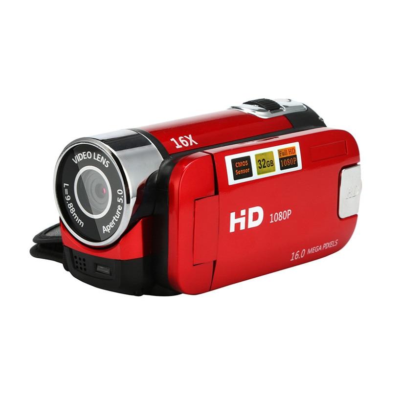 Free Shipping 1080P HD Video Camera Camcorder 16x Digital Zoom Handheld Digital Cameras 80720 цена