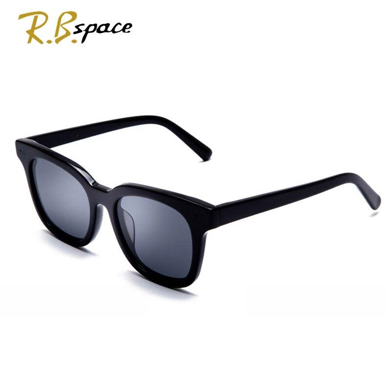 RBspace Unisex Retro Platte polarisierte sonnenbrille Marke Sonnenbrille Polarisierte Linse Vintage Brillen Zubehör Sonnenbrille Männer/Wom