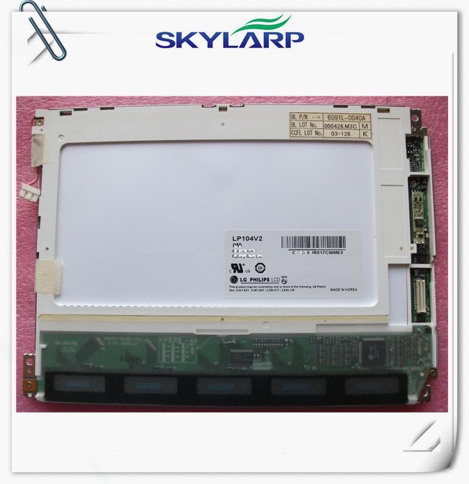 Original 10.4inch for LG for Philips LP104V2 LP104V2(B1) LP104V2W LCD Panel Display free shipping
