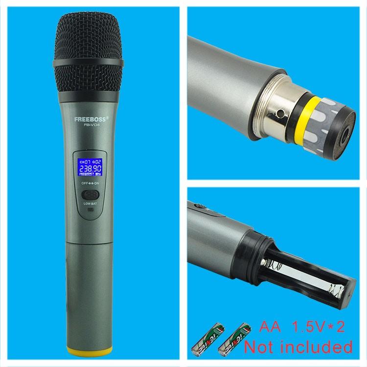 FB-V04 20 Wireless Microphones