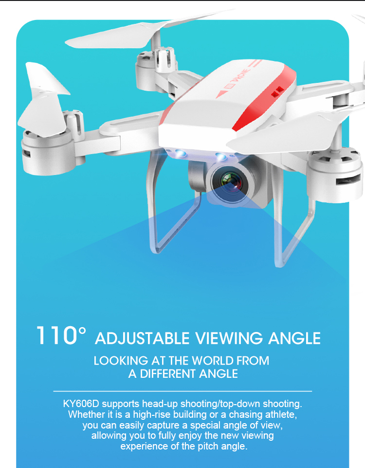 KY606D 4k HD 1080p Camera Drone with 20 Minutes Flight time for Aerial Photography 11