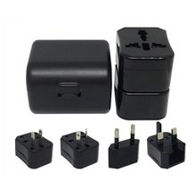 Compact World Travel Adapter Portable Power Plug Converter Universal USB Wall AC Power Durable Outlet Converter(China)