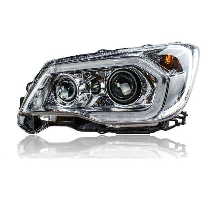 цены  New Eagle Eyes LED DRL Bi-xenon Projector Lens Headlights For SubaruForester 2013-2016