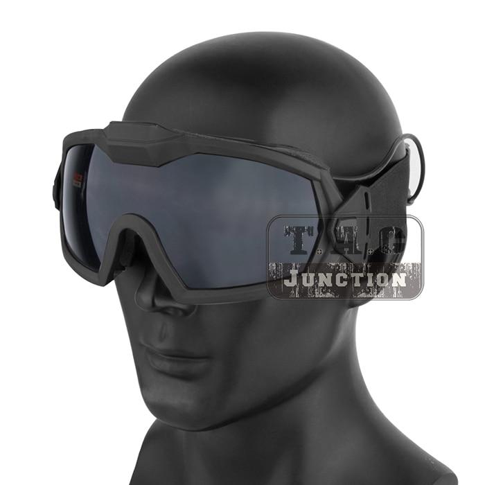 Taktik Anti sis Lensler Dış Tel OTW Gözlük Açık Avcılık Paintball Gözlük Güvenlik Gözlükleri turbo fan title=