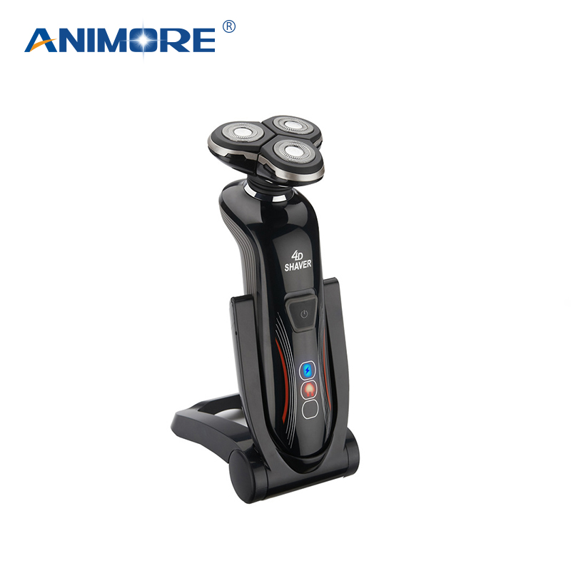 ANIMORE 4D Rechargeable Electric Shaver For Men Whole Body Washing Electric Shaving Beard Shaving Machine Razor ES-02 runwe 4d electric razor electric shaver shaving machine with beard