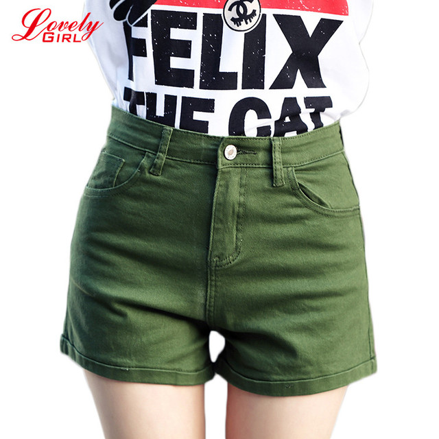 Aliexpress.com : Buy Denim Shorts Women 2017 Summer Style Army ...