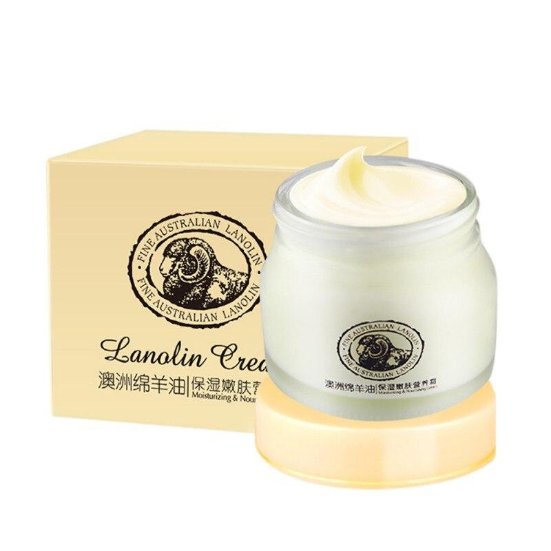 Cara hidratante Australia lanolina crema ovejas Laikou blanqueamiento antiarrugas nutritiva cremas de belleza cuidado de la piel Q8