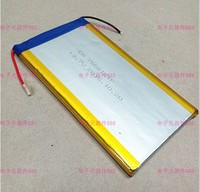 3 7 V Polymer Lithium Battery 7566121 8000MAH Mobile Power Tablet PC DIY Rechargeable Li Ion