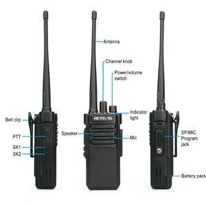 Image 4 - Potente Walkie Talkie IP67 Impermeabile RETEVIS RT29 2PCS UHF/VHF Lungo Raggio Radio A due vie Ricetrasmettitore per farm Magazzino Della Fabbrica