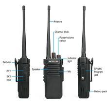 Powerful Walkie Talkie IP67 Waterproof RETEVIS RT29 2PCS UHF/VHF Long Range Two-way Radio Transceiver for Farm Factory Warehouse