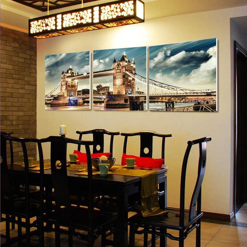 Decoration Restaurant Moderne. Impressions Toile De Peinture De ...