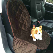 Lightweight Water Resistant Pet Seat Cover Dog Cat Puppy Safety Single Seater Protector Quilted Mat for Cars SUV(China)