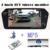 1024x600 de Alta Resolução de 7 POLEGADAS TFT LCD Sreen Bluetooth TF USB MP5 Monitor Espelho retrovisor Do Carro Monitor de Estacionamento invertendo a prioridade