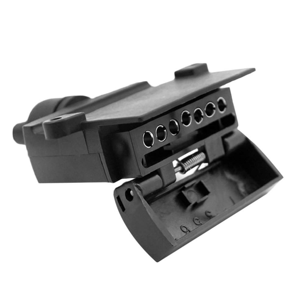 Image 5 - 7 Pin Flat Female Trailer Light Plug Connector Socket Caravan Car Truck Adapter Electrical Plug & Socket-in Trailers & Trailer Couplings from Automobiles & Motorcycles