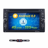 FreeCamera 7 Android8 0 4G 32G 8OctaCore Car GPS 2Din Radio Universal Car DVD Player Double