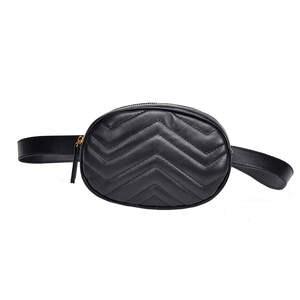 5c9d42682df3 HTNBO Fanny Pack Belt Bag Women Leather Waist Bag Handbags