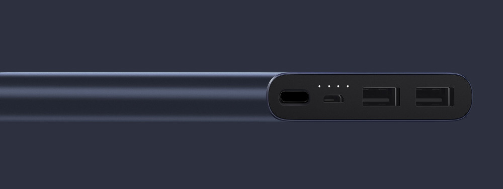 Original Xiaomi Mi Power Bank 2 10000 mAh External Battery portable charginQuick Charge 10000mAh Powerbank Supports 18W Charging 4