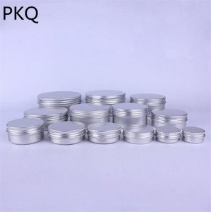 Image 2 - 50 pcs/lot pots en aluminium pots en aluminium crème en aluminium 30 ml récipient en aluminium 50 ml boîte en aluminium