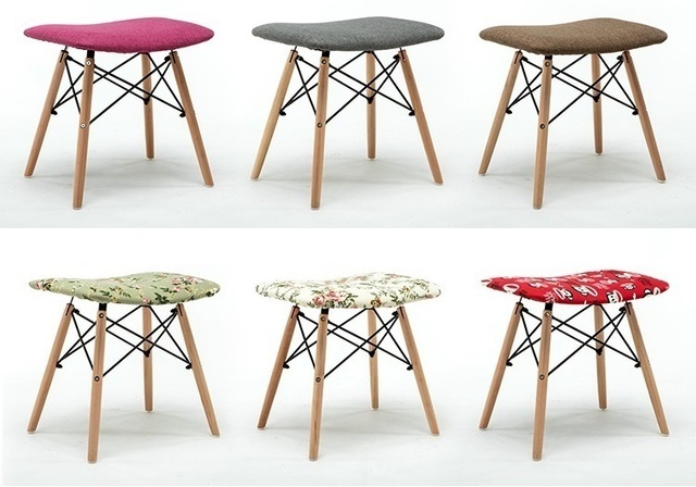 Rose Red Stools Free Shipping Living Room Coffee Furniture Chairs Fascinating Shipping Furniture Model