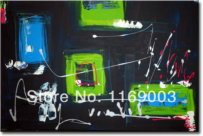 Cheap Abstract modern canvas art font b knife b font paint famous handmade oil painting only