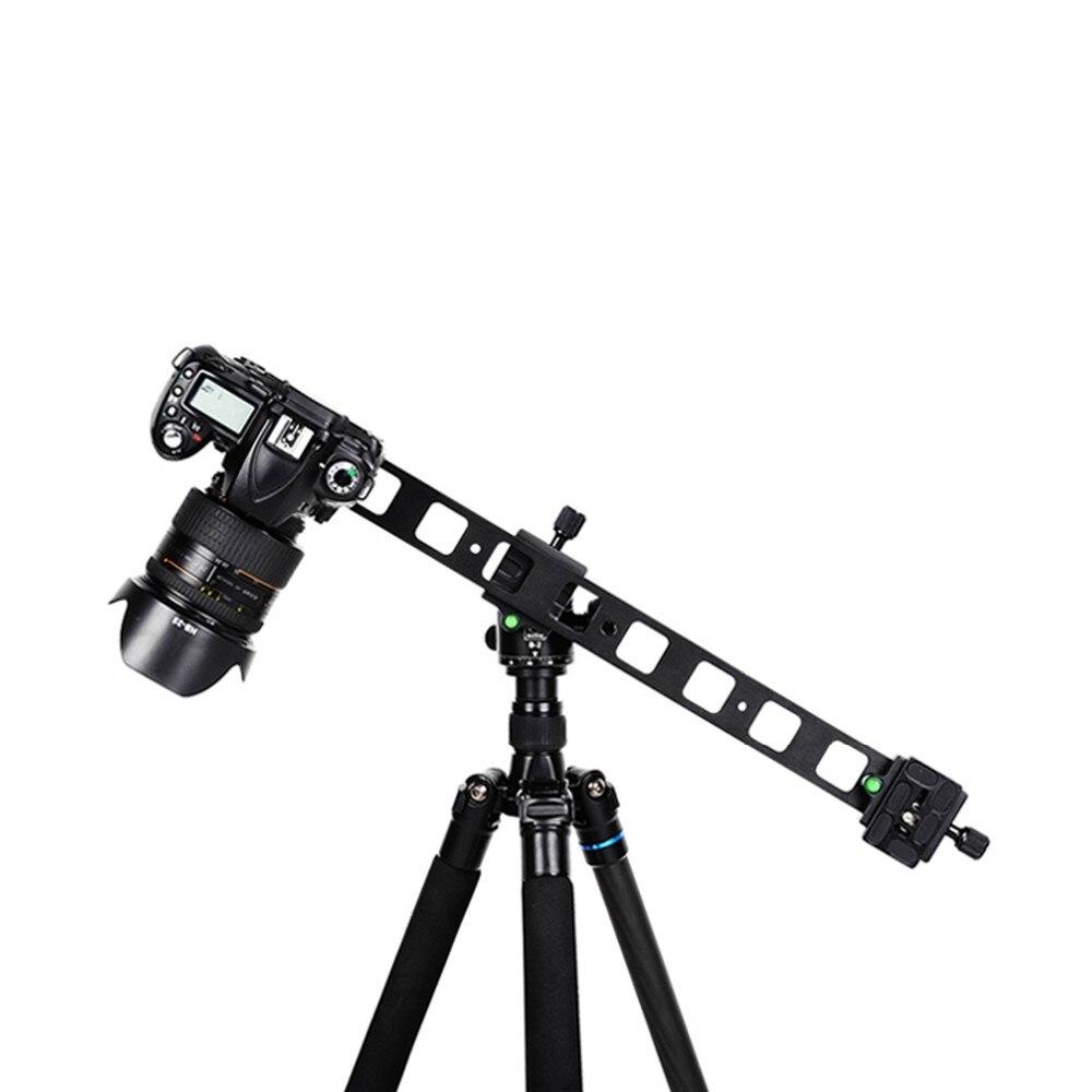 Manbily PU-480 plaque d'allongement/Double tête/trépied universel monopode plaque de dégagement rapide/mini glissière pour support d'appareil photo reflex numérique
