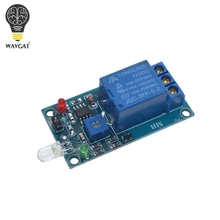 WAVGAT Photosensitive diode module 5V 12V Relay mod