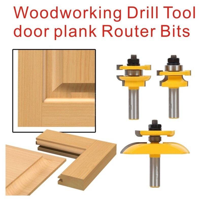Cabinet Door Router Bits