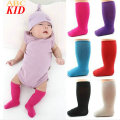Solid Color Infants Stocking Newborn Toddler Knee High Sock Baby Socks Red Leg Warmers For Newborns Infantile KD352