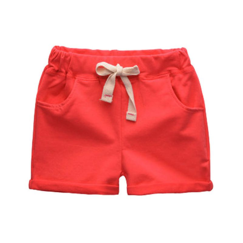 2017 Summer Hot Selling 4 Candy colors baby boys   shorts   trousers knee length   shorts   children's cotton trousers