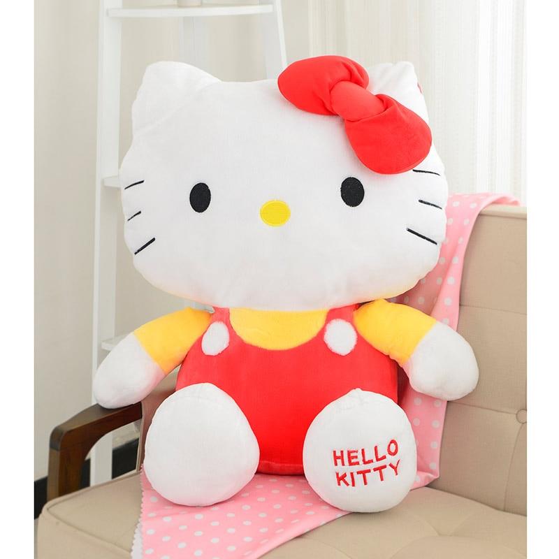 Hello Kitty Plush Toys Kawaii Hello Kitty Plush Toys Cotton Material Free Shipping