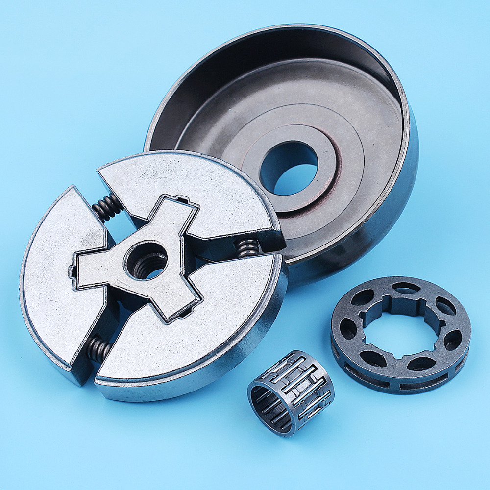 """Image 4 - 3/8"""" Clutch Drum Bell Rim Sprocket Bearing Kit For Husqvarna 51 55 Rancher 50 Special 154 254 Chainsaw Replacement Spare PartsChainsaws   -"""