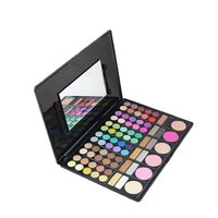 78 Color Hot Matte Eyeshadow Palette With Blusher Contour Powder Fashion Shimmer Eye Shadow Pallete Makeup