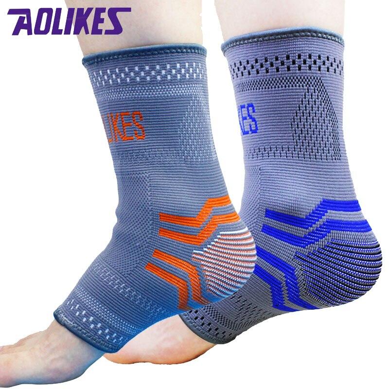 AOLIKES 2 ks / Pair Nylon Elastické kotníkové patky Podpěra - Sportovní oblečení a doplňky