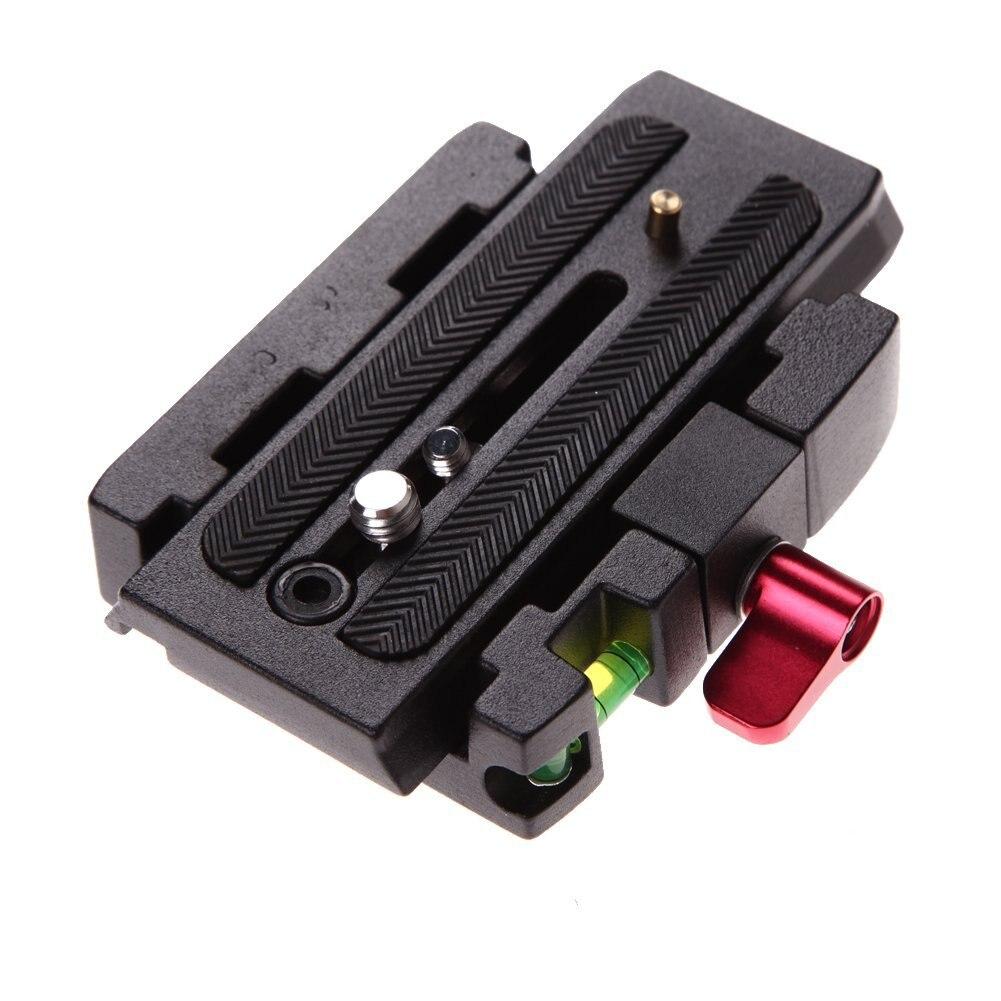 Alloet trípode de cámara de aluminio de la placa de liberación rápida de la Asamblea P200 adaptador de pinza para productos con 501 500Ah 701HDV 577