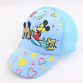 2016 summer new children's Adjustable cartoon mesh baseball cap baby sun hat boys and girls outdoor casual sport gorra
