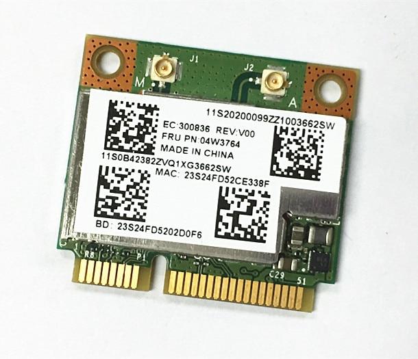 SSEA беспроводная карта для Broadcom BCM943228HMB wifi Bluetooth4.0 Половина мини PCI-E двухдиапазонный для IBM E130 E135 E330 E335 FRU 04W3764