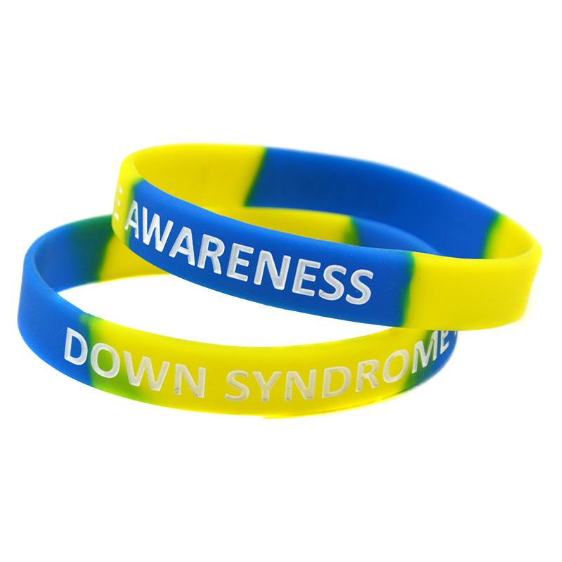 Down Syndrome Awareness Silicon Bracelet Show Your Support And For Them By Wearing One Of These Eyes Catching Wristband