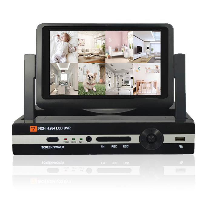 CCTV 8ch 1080N Digital Video Recorder with 7 LCD  Resolution 800*600  Hybrid DVR HVR NVR Home Security System JSACCTV 8ch 1080N Digital Video Recorder with 7 LCD  Resolution 800*600  Hybrid DVR HVR NVR Home Security System JSA