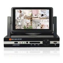 """CCTV 8ch 1080N Numérique Enregistreur Vidéo avec 7 """"LCD Résolution 800*600 Hybride DVR HVR NVR de Sécurité À Domicile système JSA"""