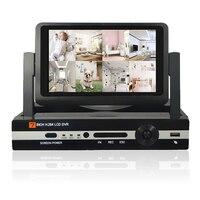 CCTV 8ch 1080N Digital Video Recorder With 7 LCD Resolution 800 600 Hybrid DVR HVR NVR