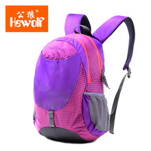 Hewolf Outdoor climbing camp children sports package travel backpack middle school student male and female shoulder bag18L