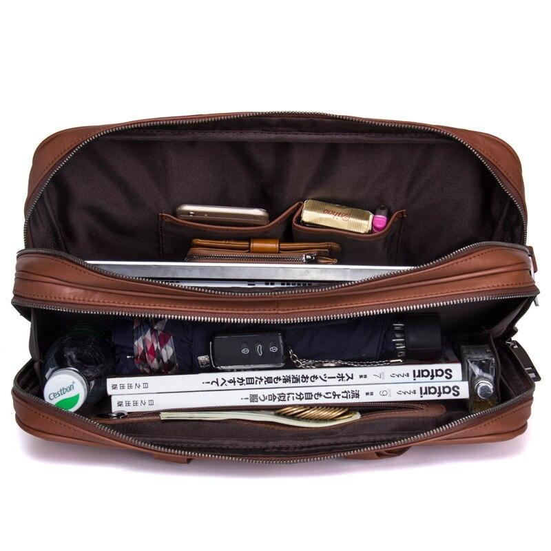 Mens Business Briefcase Leather Shoulder Bag Casual HandbagsMens Business Briefcase Leather Shoulder Bag Casual Handbags